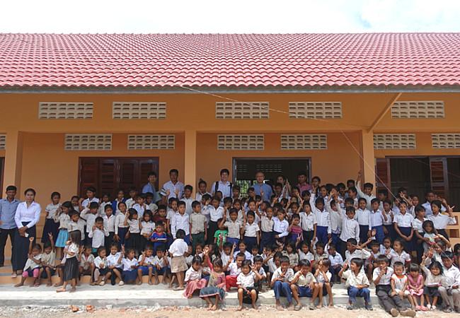 カンボジア小学校建設建設